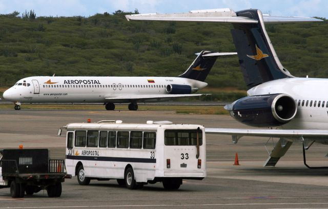 Airlines are the biggest victim of Venezuela's currency restrictions. Photographer: Diego Giudice/Bloomberg News